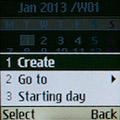Календарь на Samsung GT-E1200R. Рис. 2