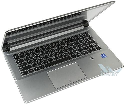 Приоткрытый Lenovo Flex 2