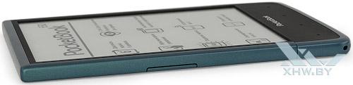 Левый торец PocketBook 650