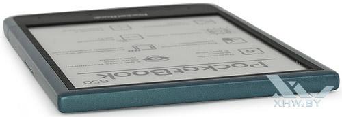 Верхний торец PocketBook 650