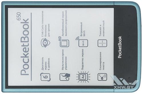 PocketBook 650. Вид сверху