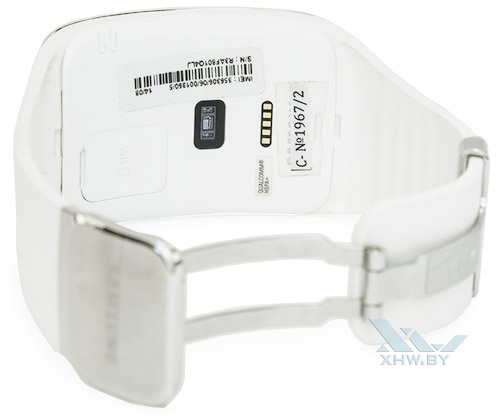 Внутренняя часть Samsung Gear S