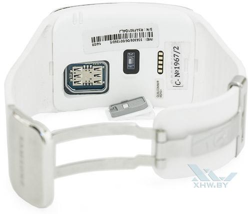 Отсек для SIM-карты на Samsung Gear S