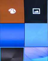 Настройки оформления на Samsung Gear S