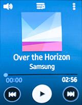 Музыкальный плеер на Samsung Gear S