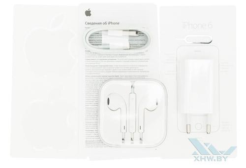 Комплектация Apple iPhone 6
