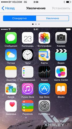 Уведомления на Apple iPhone 6