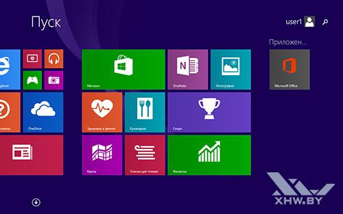 Стартовый экран Prestigio Visconte 3 3G. Рис. 2