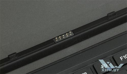Контакты док-клавиатуры для Prestigio Visconte 3 3G