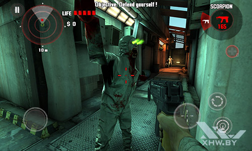 Игра Dead Trigger на Meizu MX4