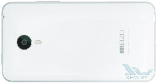 Meizu MX4. Вид сзади