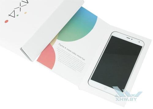 Внутри коробки Meizu MX4