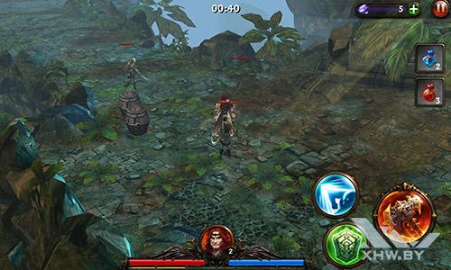 Игра Eternity Warriors 3 на Meizu MX4
