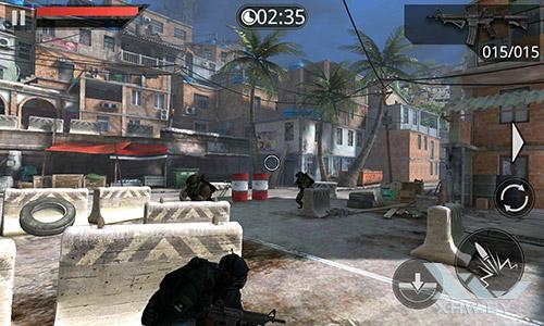 Игра Frontline Commando 2 на Meizu MX4