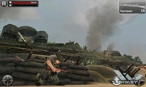 Игра Frontline Commando: Normandy на Meizu MX4