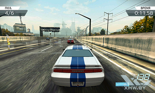 Игра Need For Speed: Most Wanted на Meizu MX4