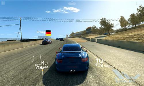 Игра Real Racing 3 на Meizu MX4
