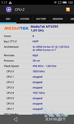 Процессор Meizu MX4