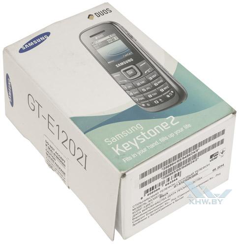Коробка Samsung E1202I