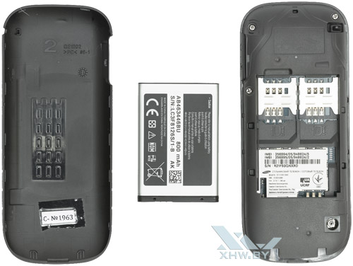 Внутри Samsung E1202I