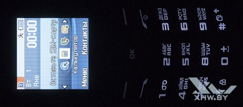Подсветка клавиатуры Samsung E1202I