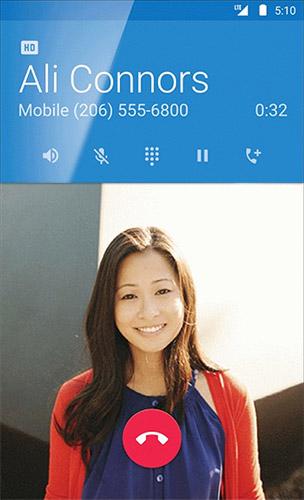 Android 5.1 совместим с HD Voice