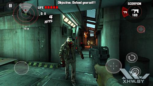 Игра Dead Trigger на Prestigio MultiPhone 5517 DUO