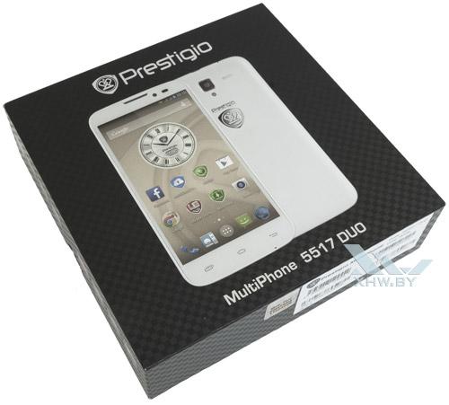 Коробка Prestigio MultiPhone 5517 DUO