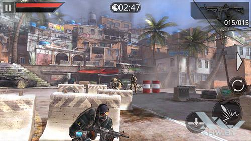 Игра Frontline Commando 2 на Prestigio MultiPhone 5517 DUO