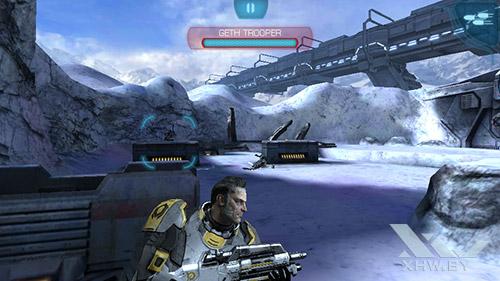 Игра Mass Effect: Infiltrator на Prestigio MultiPhone 5517 DUO