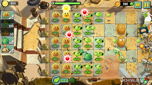 Игра Plants vs Zombies 2 на Prestigio MultiPhone 5517 DUO