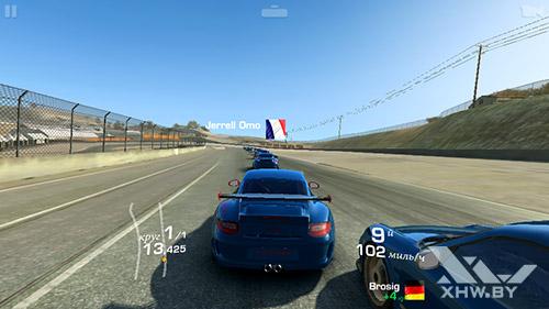 Игра Real Racing 3 на Prestigio MultiPhone 5517 DUO