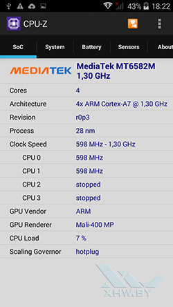 Процессор Prestigio MultiPhone 5517 DUO