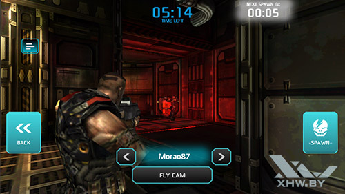 Игра Shadowgun: Dead Zone на Prestigio MultiPhone 5517 DUO