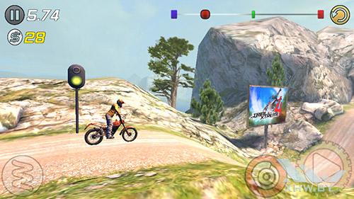 Игра Trial Xtreme 3 на Prestigio MultiPhone 5517 DUO