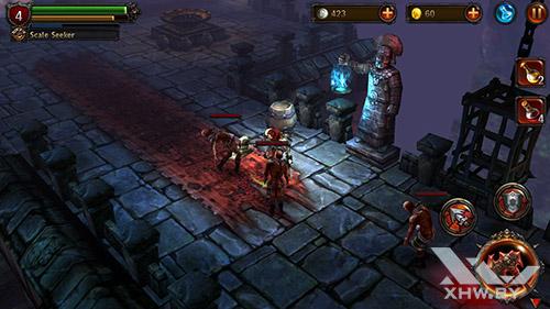 Игра Eternity Warriors 2 на Samsung Galaxy E5
