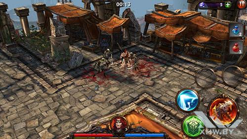 Игра Eternity Warriors 3 на Samsung Galaxy E5