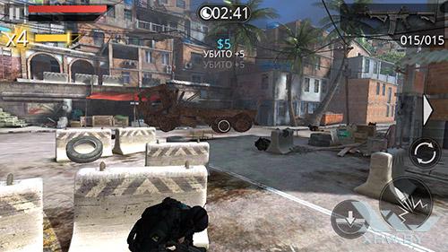 Игра Frontline Commando 2 на Samsung Galaxy E5