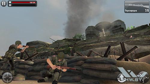 Игра Frontline Commando: Normandy на Samsung Galaxy E5