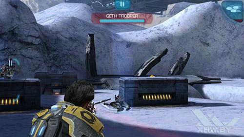 Игра Mass Effect: Infiltrator на Samsung Galaxy E5