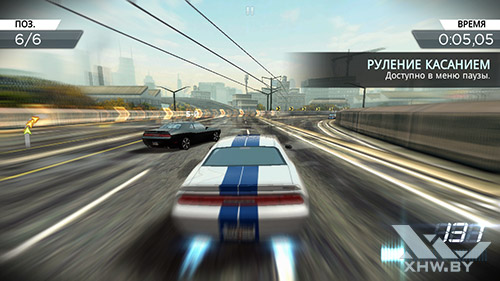 Игра Need For Speed: Most Wanted на Samsung Galaxy E5