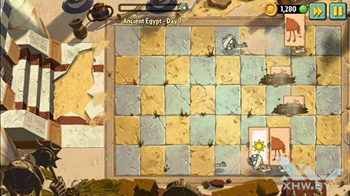 Игра Plants vs Zombies 2 на Samsung Galaxy E5