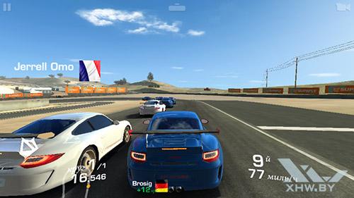 Игра Real Racing 3 на Samsung Galaxy E5
