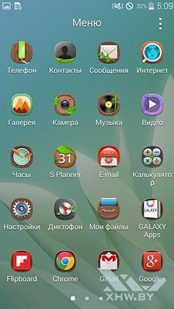 Темы оформления на Samsung Galaxy E5. Рис. 3