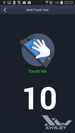 Экран Samsung Galaxy E5 распознает 10 касаний