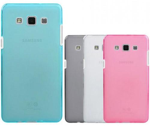 Силиконовый матовый чехол для Samsung Galaxy E5