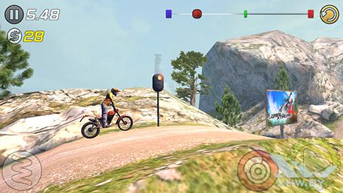 Игра Trial Xtreme 3 на Samsung Galaxy E5