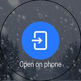 Уведомление от GO Weather EX на LG G Watch R. Рис. 4