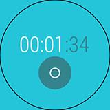 Секундомер LG G Watch R