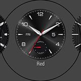 Выбор циферблата LG G Watch R. Рис. 2